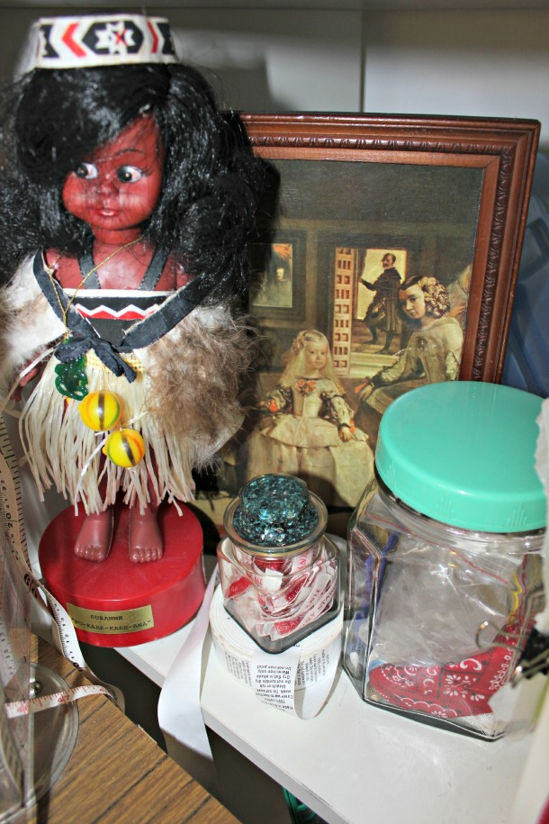 Maori Doll, Sewing Room, Velasquez Infanta